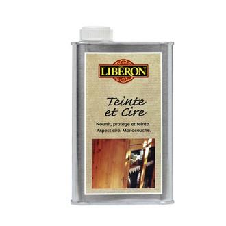 LIBERON - Teinte et cire pour mérisier en bidon 500 ml