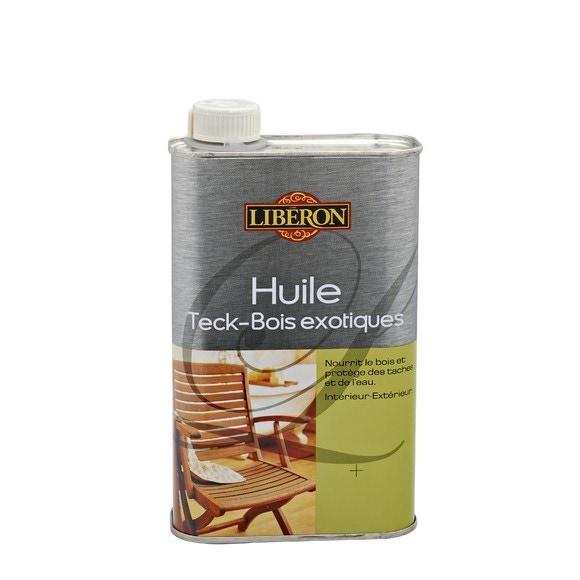 Achat en ligne Huile protectrice pour teck ambré 500 ml
