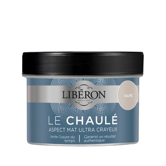 LIBERON - Peinture à effet chaulé taupe en pot 250 ml