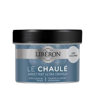 LIBERON - Peinture à effet chaulé gris colombe en pot 250 ml