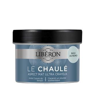 LIBERON - Peinture à effet chaulé bleu du nord en pot 250 ml