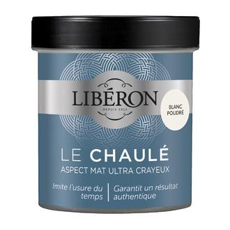 LIBERON - Peinture à effet chaulé blanc poudré en pot 500 ml