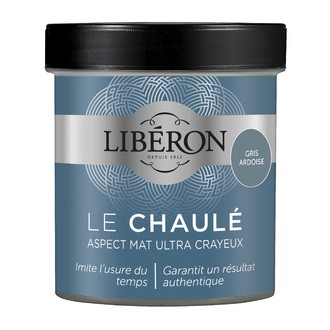 LIBERON - Peinture à effet chaulé gris ardoise en pot 500 ml