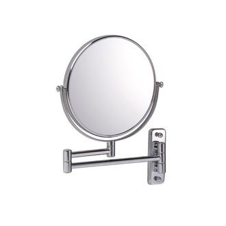 Miroir mural grossissant double face X10 Constance diamètre 20cm