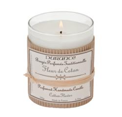 Achat en ligne Bougie parfumée fleur de coton 180g