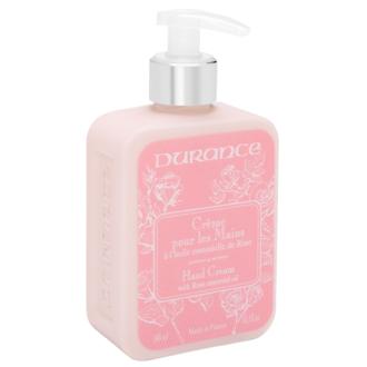 DURANCE - Crème pour les mains aux huiles essentielles de la rose - 300 ml