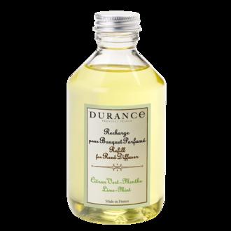 DURANCE - Recharge pour bouquet parfumé citron vert menthe 100 ml