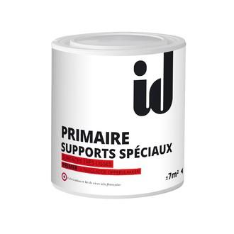 INITIATIVES DECORATION - Sous-couche de peinture pour supports spéciaux blanc en pot 500 ml