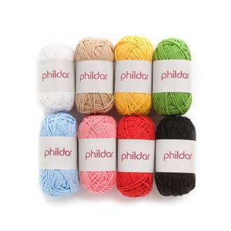 Indispensables - 8 mini pelotes de laine coloris primaires