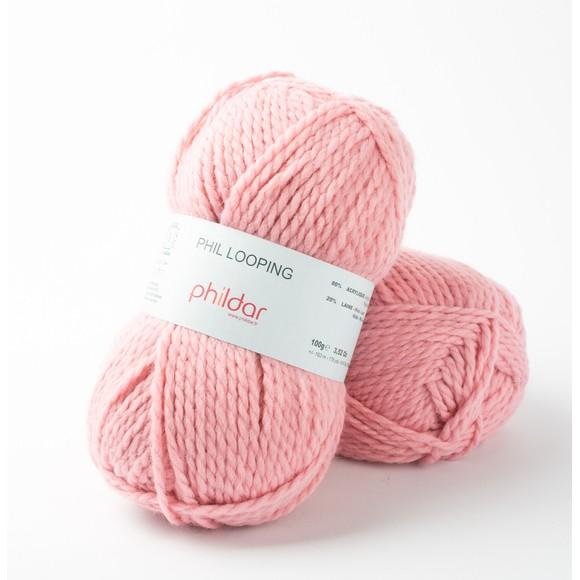 Pelote de laine berlingot looping 100g