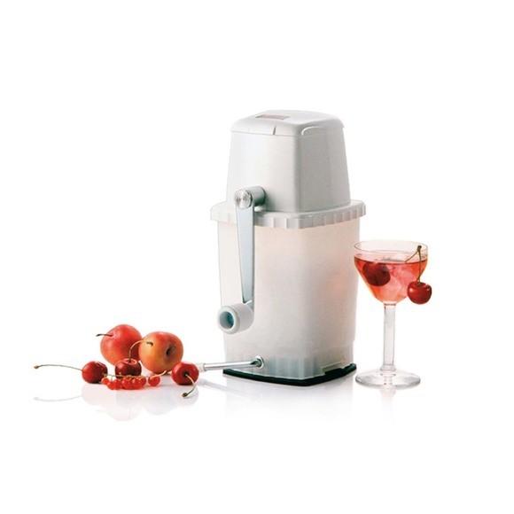 compra en línea Trituradora de hielo para cócteles en blanco