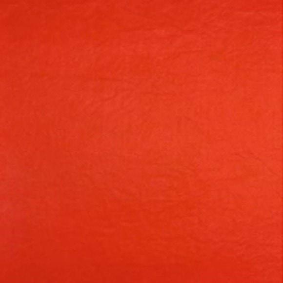 Lot de 8 feuilles de papier de soie rouge 50x75cm