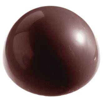 MAT FER - Moule à chocolats 32demi-sphères en polycarbonate 2,6cm