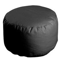 Achat en ligne Pouf rond gris métal Roméo 50x30cm