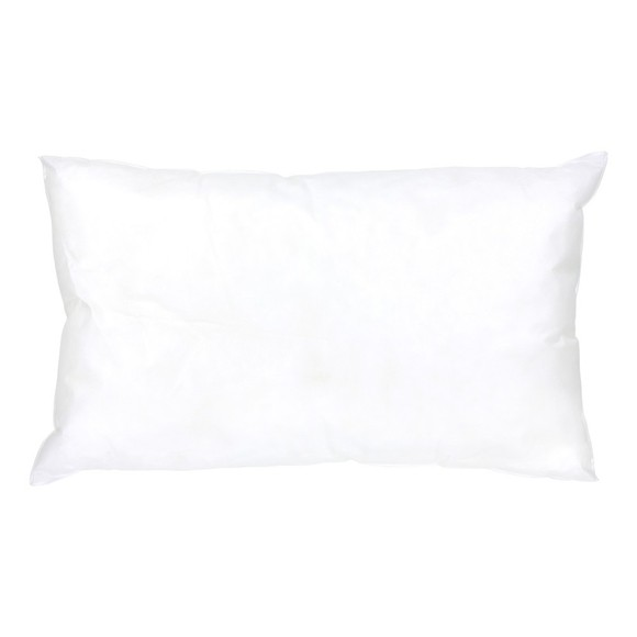 Coussin de rembourrage rectangle en mousse blanc 40x60cm