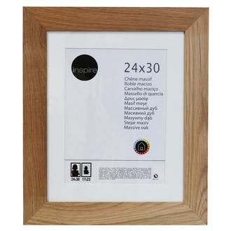 Cadre nakato inspiré en chêne naturel 24x30cm