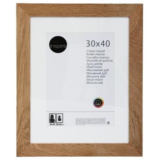 Cadre nakato inspiré en chêne naturel 30x40cm