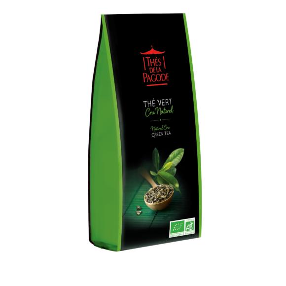 Thé vert bio Cru naturel vrac 100g