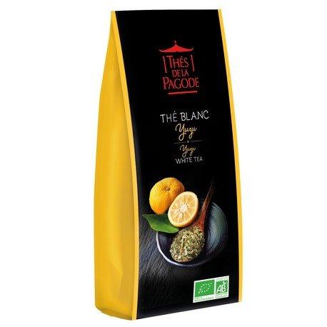 Achat en ligne Doypack thé blanc Yuzu Bio 60g