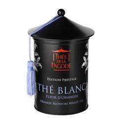 Achat en ligne Thé blanc bio fleur d'oranger boîte métal 100g