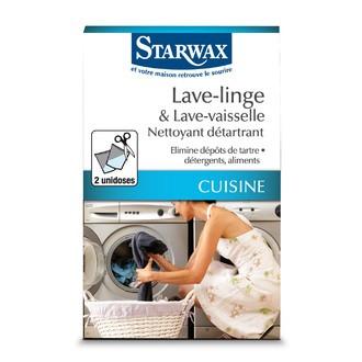 STARWAX - Nettoyant détartrant pour lave-linge et lave-vaisselle