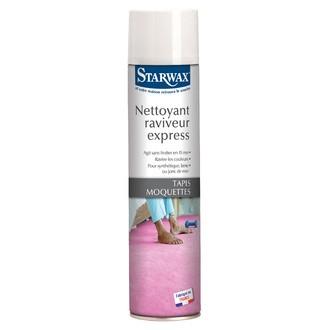 STARWAX - Nettoyant express pour moquette en aérosol 600ml