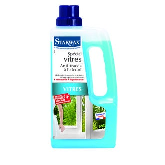 STARWAX - Nettoyant alcool pour vitres 3en1 1L