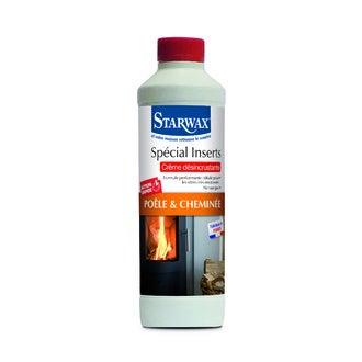 STARWAX - Crème nettoyante pour inserts de cheminées 500ml