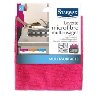 STARWAX - Lavette microfibre multisurfaces
