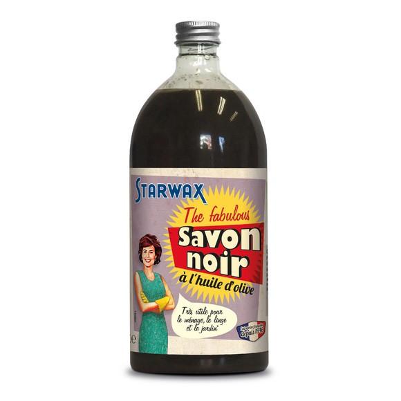 Sapone nero concentrato all'olio d'oliva, 1L.