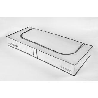 COMPACTOR - Housse de rangement intissée pour dessous de lit blanche