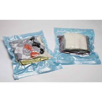 COMPACTOR - Set de 2 sacs vide d'air sans aspiration pour voyage taille S