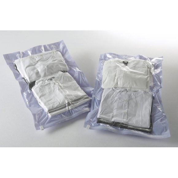 Achat en ligne Set 2 sacs vide d'air sans aspiration voyage taille M