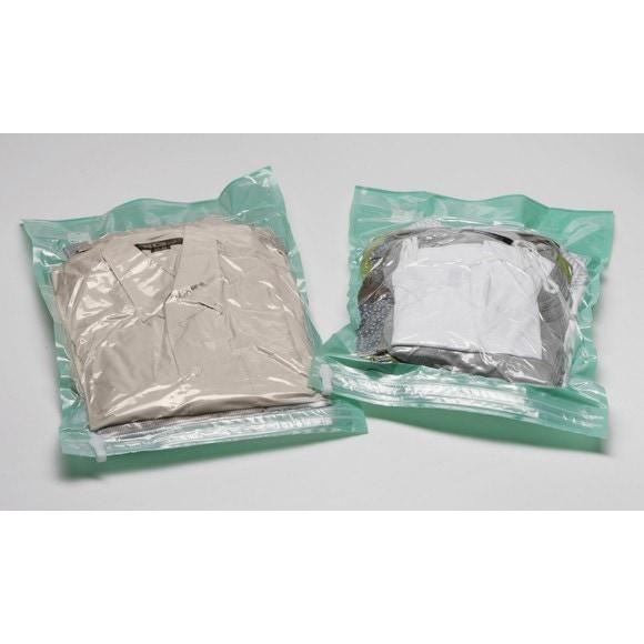 Set 2 sacs vide d'air sans aspiration voyage taille L
