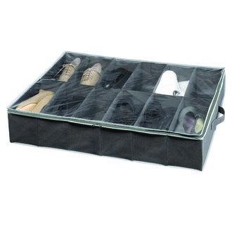 COMPACTOR - Housse de rangement pour 12 paires de chaussures en dessout de lit