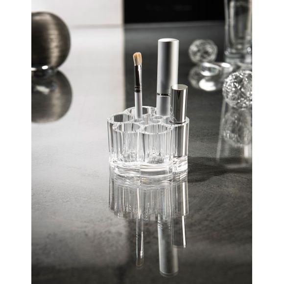 Pot à pinceaux ou crayons en acrylique 12 compartiments