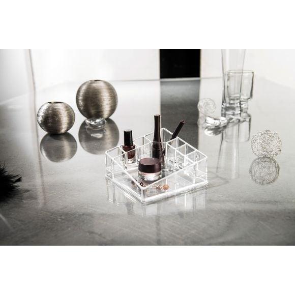 Rangement Maquillage Transparent