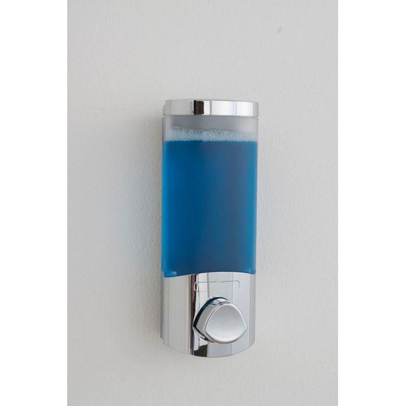 Distributeur de savon liquide mural chromé Uno