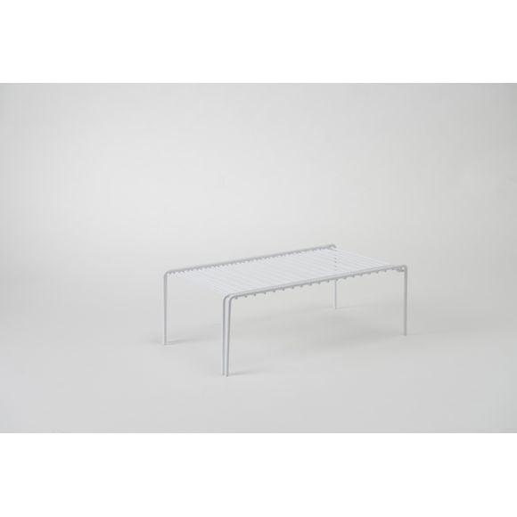 Tablette extensible blanche 73,7x21x13,7cm