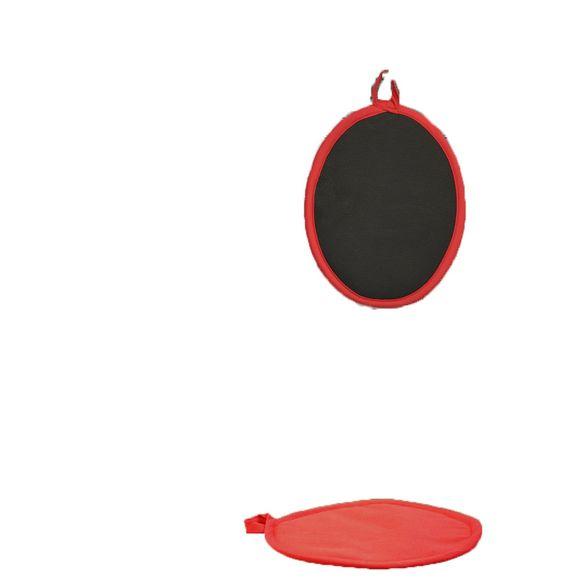 Presina in cotone e silicone rosso