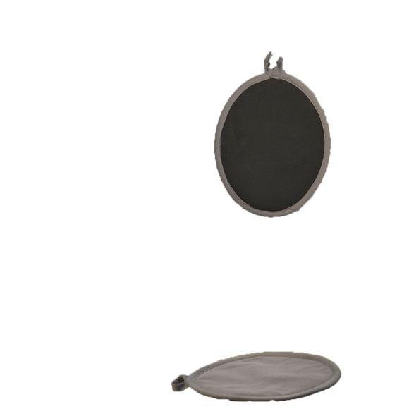 Presina da cucina ovale in cotone e silicone
