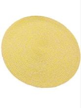 Achat en ligne Set de table chiné moutarde 38cm