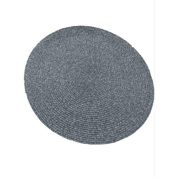 Set de table chiné gris 38cm