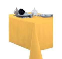 Achat en ligne Nappe 140x240cm en polyester jaune moutarde Tentation
