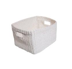 Achat en ligne Panier blanc Regate 28x34x20cm