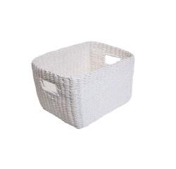 Achat en ligne Panier blanc Regate 25x31x18cm