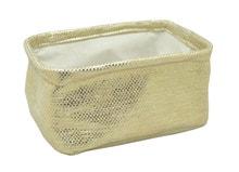 Achat en ligne Vide poche doré en papier 20x15x9,5cm