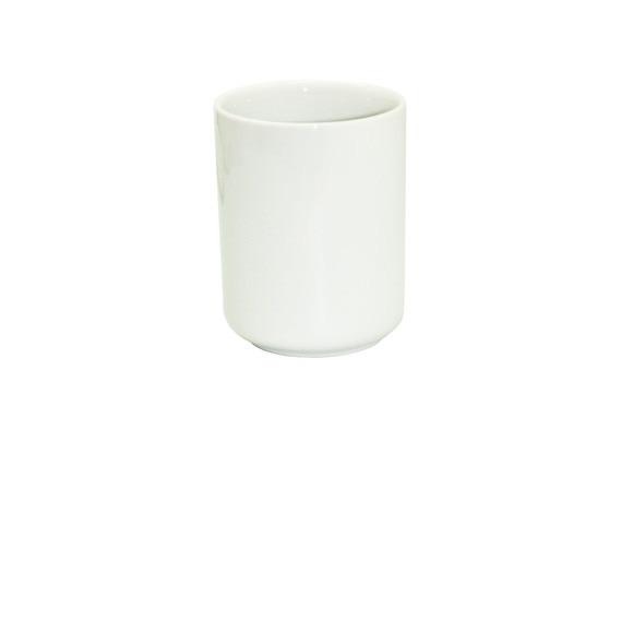 Gobelet en porcelaine blanche Dune