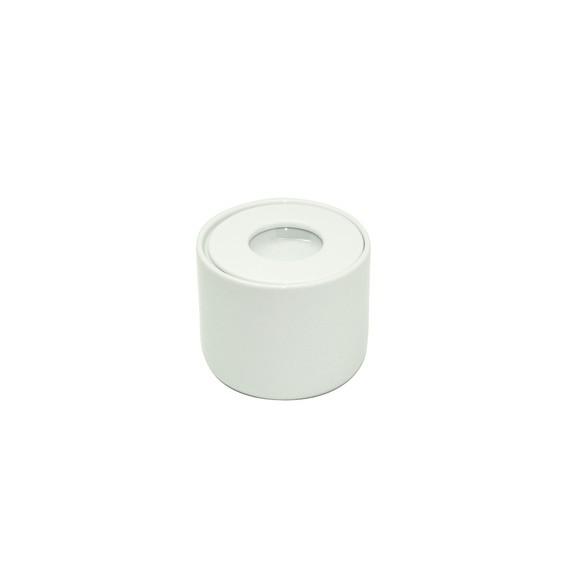 Achat en ligne Pot à coton en porcelaine blanche Dune
