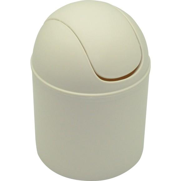 Achat en ligne Poubelle à coton crème